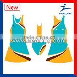 Sublimation Netball Wear, Breathable Netball Uniforms, Cheap Netball Dresses,Hight Quality Netball Jersey