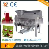 Leader stainless steel grape crushing machine                                                                                                         Supplier's Choice