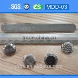 Stainless steel tactile indicator guiding stud for blind warning