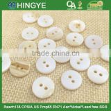 Wholesale high quality two holes natural river shell buttons for clothing SH-001                                                                         Quality Choice