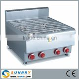 Heavy duty gas cooker with gas burners industrial used (SUNRRY SY-GB600)
