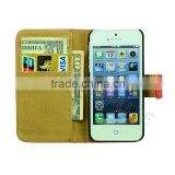 Buy from China Online Book Style Leather Case for iPhone 5 Case