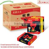 Hot sandalwood smoke free black mosquito coil from China electric mosquito racket
