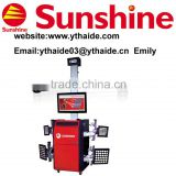 **SUNSHINE brand SX-G8 3D wheel alignment/brake service,CE certificated,32inch TV screen