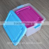 new product Household portable Fashion multi-function Plastic Storage box with lids storage container