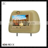 "9"" taxi led advertising board 3g led advertising wifi tv smart box headrest android car audio player headrest player"