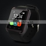Competitive price u8 smart watch with altimeter and barometer for android phone