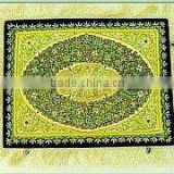 Incredible Absolutely Exquisite 100% Handmade Traditional Designer Semi-Precious Stone Jewel carpet wall hangings