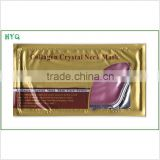 Anti-wrinkle Firming Moisturizing Nourishing Gold super crystal skin care Neck Mask skin care product
