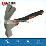 Forged steel french claw hammer with TPR double color handle