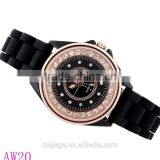 Women's Girls' Diamond Round Dial Wrist Watch Quartz Watches