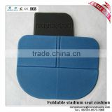 Foldable stadium seat cushion for good promotion