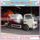 new dongfeng LHD 5500liters 4x2 lpg truck with liquid gas tank