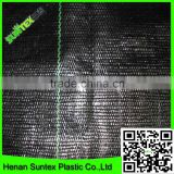supply black color PE plastic weed control mat for tree