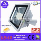 Wholesale high power smd Samsung LG led outdoor landscape lighting meanwell driver DC 12 volt led high power floodlight 150w