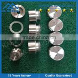 Countersunk glass hole stainless steel standoff for side mounted frameless glass railing