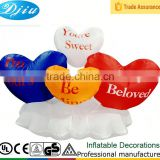 DJ-134 4ft-8ft inflatable outdoor christmas sweet love beloved decoration