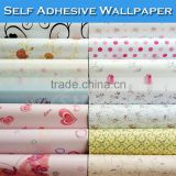 Home Hotel Wall Decoration Self Adhesive PVC Vinyl 3D Design Wallpaper