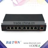 POE 8 port 10/100M,gigabit 1000M network 8 poe,16poe, 24poe, switch with 48V/2A external power Over ethernet
