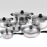 12pcs german cookware sets palm restaurant cookware/tivoli cookware