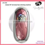 2mhz Portable Slimming Machine With Skin Lifing RF Facial Care RF+Cavitation +red Led Light Photon Rf Slimming Machine