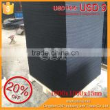 high quality cheap 1000*1000*15mm heat resistant waterproof gym rubber floor mat and gym mat