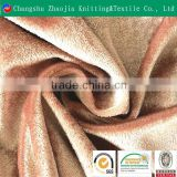 China manufacturer 100% polyester China velvet fabric for upholstery ZJ060