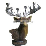 Deer Head Statues Resin Handmade Animal Statue