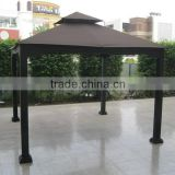 Hot sales 3X3m outdoor Garden PE wicker rattan durable gazebo                                                                         Quality Choice