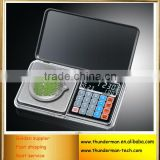 6 in1 LCD Display Digital Pocket Jewelry diamond Scale with Time, Temperature,Counting and Pricing