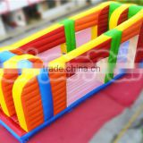 2016 new arrival adult inflatable Z-RIDER obstacle course equipment for sale