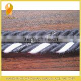 8MM BLACK COTTON ROPE, COTTON CORD