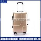 PC Shell Mat Carry-on Trolley Polo Luggage With Aluminum Frame Luggage Parts
