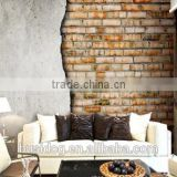 3D Old Style Interior Brick Design Customize Murals Walls for Home Decoration