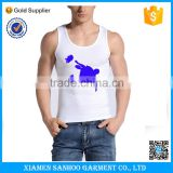 Best Seller Men Bulk White Tank Tops Fashion Custom Singlet Popular Tank Top Gym Made In China