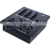 3 Channel Professional Sound Equipment System Rack Mount Stereo Audio DJ Mixer