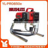 Piston Pump Electric Brushless Motor High Pressure Airless Paint Spraying Machine YL-PRO850e