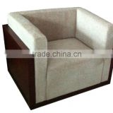china furniture chair with fabric and wood , lounge sofa fabric square sofa square sofa YS102