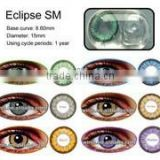Eclipse yearly 3 tone soft clear contact lens cosmetic contact lens korea