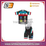 Stan Caleb cycling bibs spandex skin tight suit female skin suit