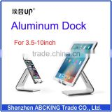 "UP Brand Desk Holder Aluminum Dock For 3.5""- 6"" Smart Phone And 7""-10"" Tablet PC"