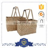 Cheap Large Bamboo Weaving Storage Portable Basket