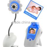 Wholesale Full Color Flower Camera PIR Night Vison Baby Monitor 1.5'' Baby-sister Monitor