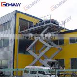 Factory price CE Quality Electric Hydraulic car-caring scissor lift with trade assuarance