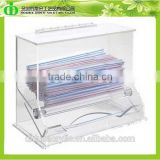 DDQ-S006 Trade Assurance Cheap Acrylic Drinking Straw Dispenser