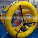 2m dia 1.5m wide inflatable trolley wheel Inflatable water park game Inflatable pool toy