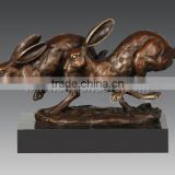 2011 Hot sale outdoor bronze sculpture of Rabbits (AL318)