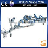 CE approved Hison China manufactures sale motor boat trailer
