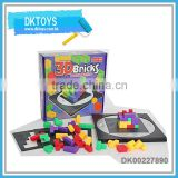 Hot Sale New 3D Bricks Puzzle Series Game Blocks Building Kids Toys