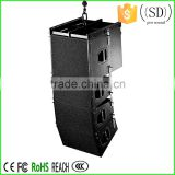 dual 10 inch line array speaker box Q1 line array system